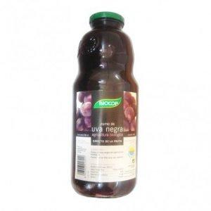 Zumo de uva negra biológico Biocop 1 lt.
