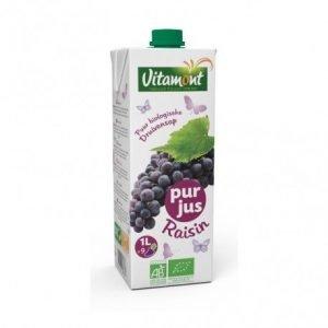 Zumo de uva negra en brick Vitamont 1 litro
