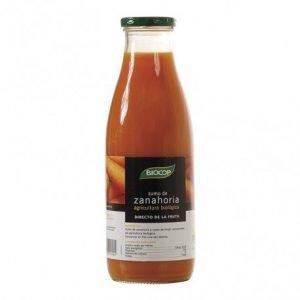 Zumo de zanahoria Biocop 750 ml.