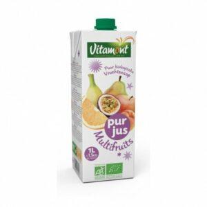 Zumo multifrutas en brick Vitamont 1 litro