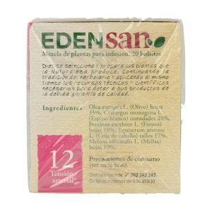 Edensan 12 Hip Infusiones