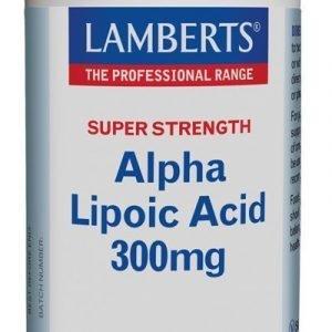 Ácido Alfa Lipoico 300 mg, ALA o Ácido Tióctico