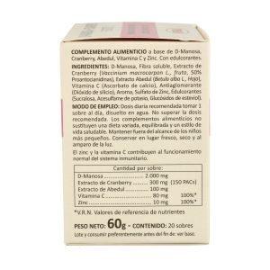 D-Manosa + Cranberry Forte