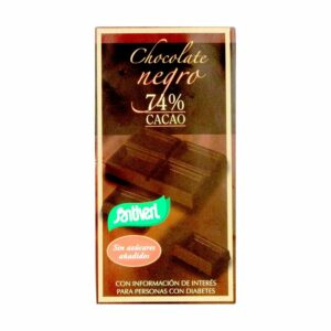 Choco Negro 74% Cacao Sin Azúcar