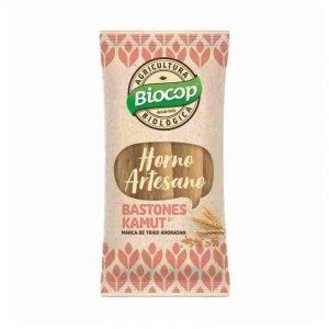 Bastones de trigo khorasan kamut Biocop 50 gr.