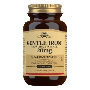Hierro GentleTM (Hierro bisglicinato) – 90 Cápsulas vegetales
