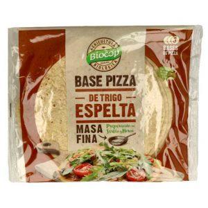 Base de Pizza de espelta Masa fina Biocop 3 bases 390 gr.
