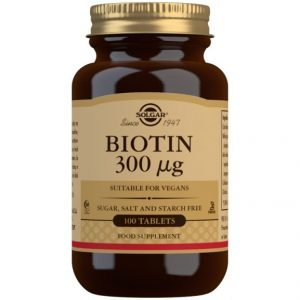 Biotina 300 µG (100 Comprimidos)