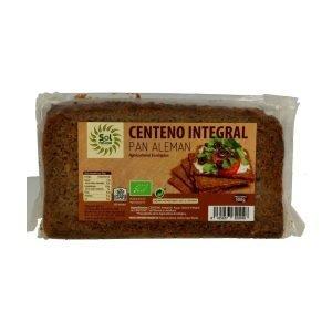 Pan Alemán de Centeno Integral Bio – 500 gr. – Sol Natural