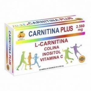 Carnitina Plus (20 Ampollas)