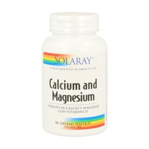 Calcium Magnesium with Vitamin D – 90 cáps. vegt.