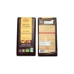 Chocolate Negro 90% con Agave
