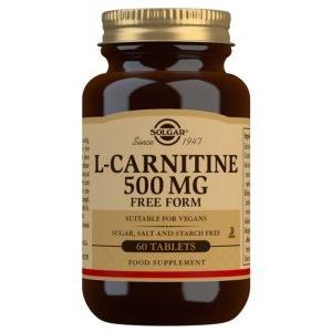 L-Carnitina 500 mg – 60 Comprimidos
