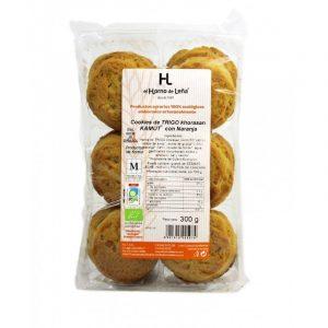 Cookies de kamut naranja ECO