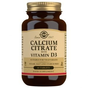 Citrato de Calcio con Vitamina D3 – 60 Comprimidos