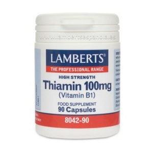 Tiamina o Vitamina B1 100 mg