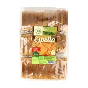 Tostadas de Espelta Bio – 400 gr. – Sol Natural