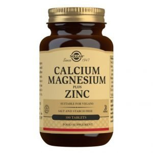 Calcio/Magnesio Plus Zinc (100 Comprimidos)