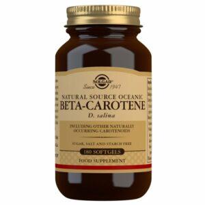 Beta-Caroteno Oceánico (7 mg) – 180 Cápsulas blandas