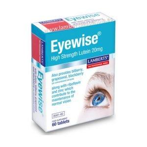 Eyewise® con 20 mg de Luteína y mas como ayuda para la visión