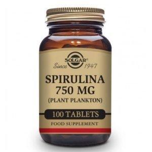 Espirulina (750 Mg Plancton – 100 Comprimidos)