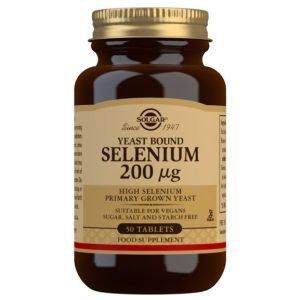 Selenio en Levadura 200 µG (Levadura Primaria con alto contenido en Selenio) – 50 Comprimidos