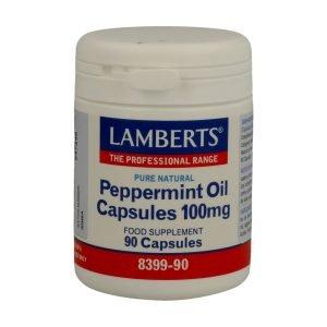 Aceite de Menta 100 mg Puro y Natural en cápsulas – Lamberts