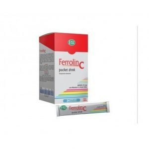 Ferrolin C Pocket Drink (24 Sobres)