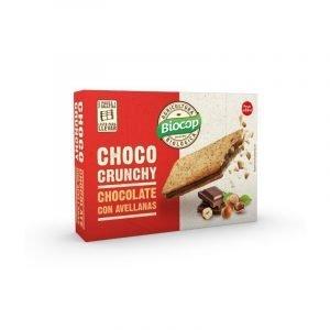 Galleta Choco crunchy chocolate avellanas Biocop 170 gr.