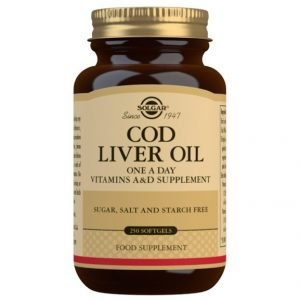 Aceite de Hígado de Bacalao (250 Cápsulas Blandas)
