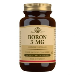 Boro 3 mg – 100 Cápsulas vegetales