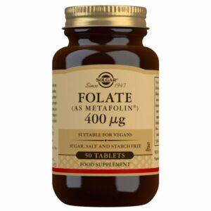 Folato (como Metafolin®) 400 μg – 50 Comprimidos