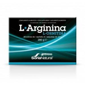 L-ARGININA + L-ORNITINA (28 x 10 grs.)