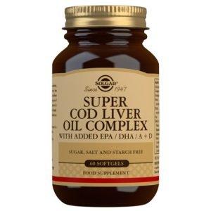 Super Cod Liver Oil Complex (60 Cápsulas Blandas)