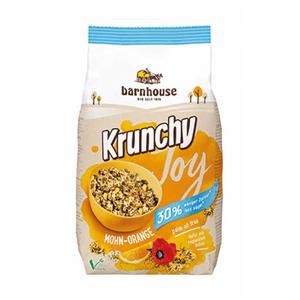 Muesli krunchy Joy amapola y naranja Barnhouse 375 g
