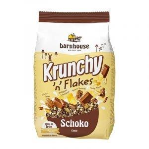 Muesli Krunchy flakes chocolate Barnhouse 375 g