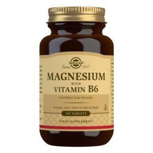 Magnesio + Vitamina B6 (100 Comprimidos)