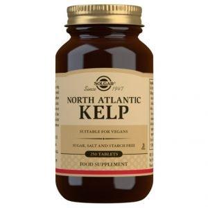 Kelp Del Atlántico Norte – Yodo (250 Comprimidos) – Solgar