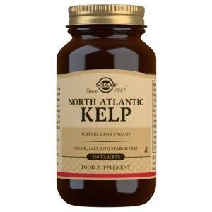 Kelp del Atlántico Norte (yodo) – 250 Comprimidos