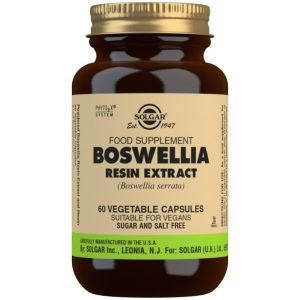 Boswellia Extracto de resina (Boswellia serrata) – 60 Cápsulas vegetales