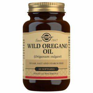 Aceite de Orégano Silvestre (Origanum Vulgare) (60 Cápsulas Blandas)