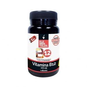 ELEMENTALES VITAMINA B12 (100 Mcg) – Novadiet