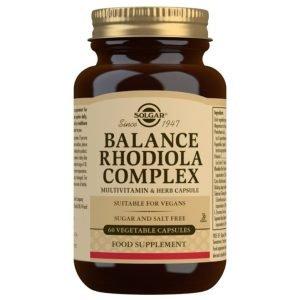 Balance Rodiola Complex – 60 Cápsulas vegetales