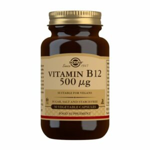Vitamina B12 500μg (Cianocobalamina) (50 Cápsulas Vegetales)