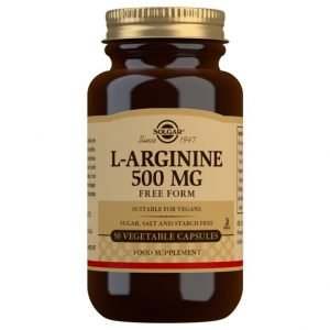 L-Arginina 500 mg – 50 Cápsulas vegetales