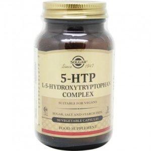 5-Hidroxitriptáfano (5-HTP) – 90 Cápsulas vegetales – Solgar