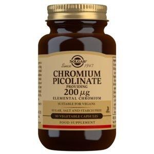 Cromo Picolinato 200 µg – 90 Cápsulas vegetales