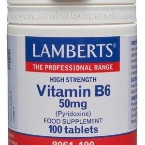 Vitamina B6 o Piridoxina 50 mg