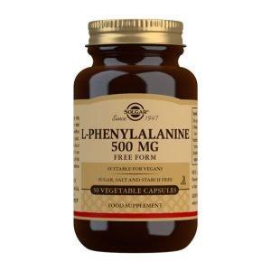 L-Fenilalanina 500 mg – 50 Cápsulas vegetales
