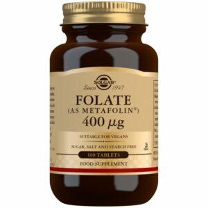 Folato (como Metafolin®) 400 μg – 100 Comprimidos